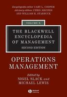 The Blackwell Encyclopedia of Management, Operations Management (Black-ExLibrary