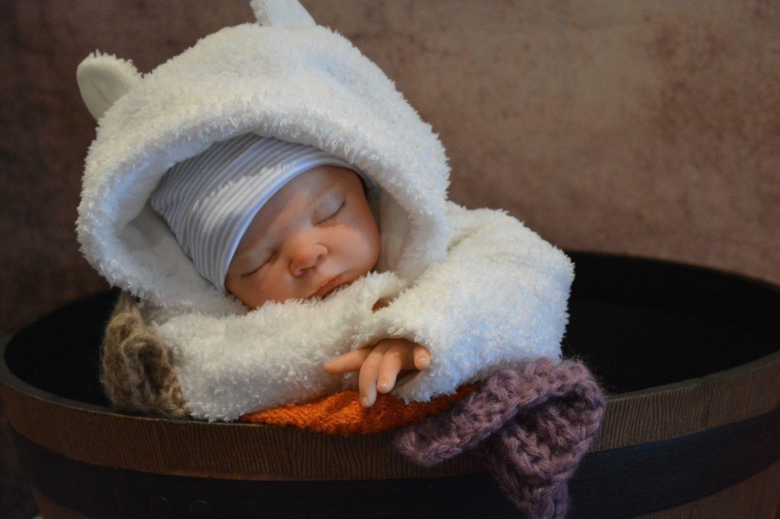 Personalizado a Medida Serah Sammie Hecho Reborn Muñeca bebé recién nacido falso Vida De Silicona