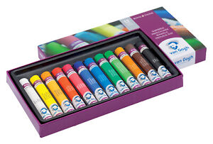Royal-Talens-Van-Gogh-Artists-039-Quality-Oil-Pastels-Set-of-12-Colours