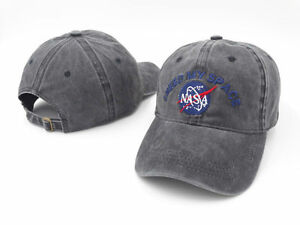 NASA-I-NEED-MY-SPACE-Base-ball-Casquette-snapback-chapeau-reglable-rare-Cool