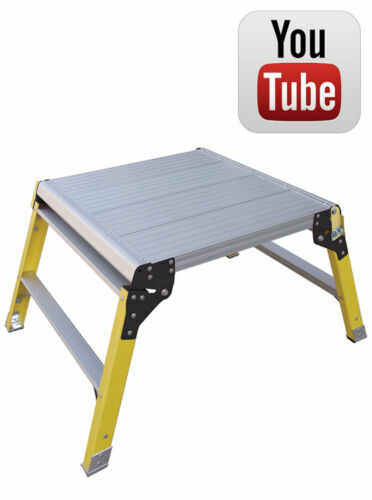 DraBeste Hop Up Platform Fibreglass Leg - 60x60cm - Trade - New