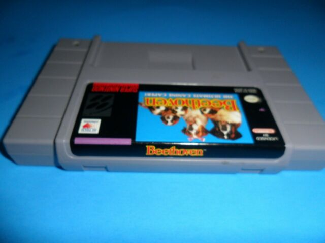 Beethoven The Ultimate Canine Caper - SNES Game Super Nintendo Authentic Clean
