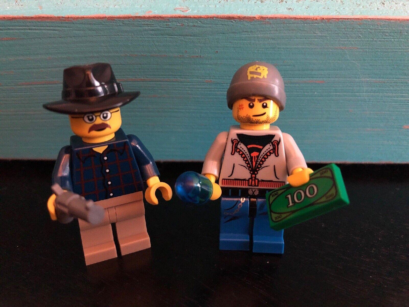 Lego Breaking Bad WALTER WHITE Season 1 Custom NEW Genuine Lego parts T.V