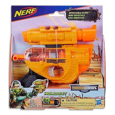 Brand New NERF N-Strike DoomLands 2169 LAWBRINGER Dart BLASTER Doom Lands