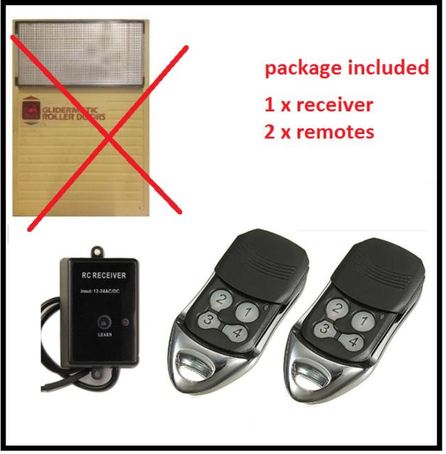 Gliderol Compatible Garage Door Remote Upgrade Kit Glidermatic