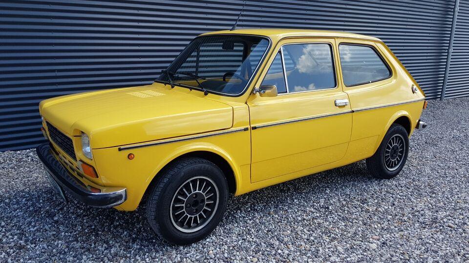 Fiat 127 0,9 Benzin modelår 1977 km 125000