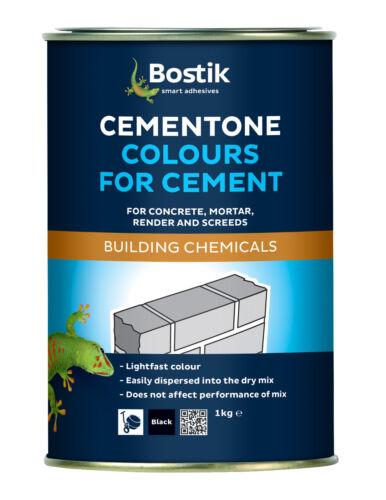 Bostik Mortero de Cemento Tinte Amarillotono de color cemento 1KGcementone