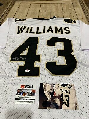 Marcus Williams Autographed/Signed Jersey COA New Orleans Saints | eBay