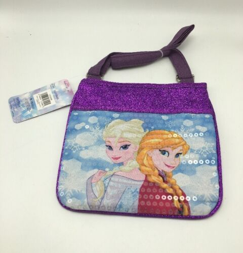 Disney Frozen Elsa and Anna Girl's Sequin Sparkle Purse