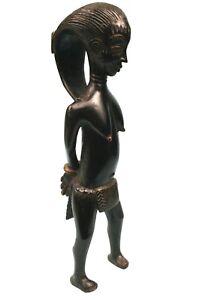 Art-Africain-Arts-Premiers-Colonial-Femme-Esclave-Gouro-Guro-Item-51-Cms