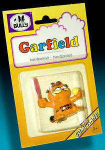 Garfield-BULLY-Comicland-1978-Blister-Pack-Boxed-Tennis-With-Scglager-Ball
