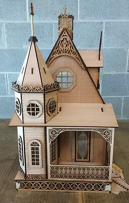 Jasmine Gothic Victorian Cottage Dollhouse 1:12 scale