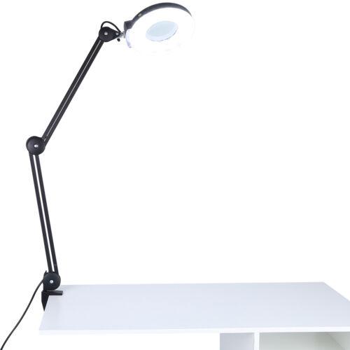 15W Lupenleuchte Lupenlampe Arbeitsleuchte Tischlampe 5 Dioptrien 127mm LM 09