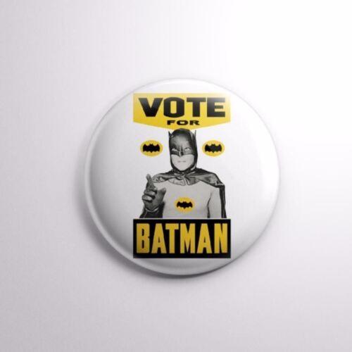 "Pinbacks Badge Button 2 1//4/"" 59mm VOTE FOR BATMAN ELECTIONS"