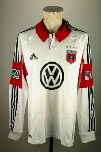 DC United Trikot Gr XL XXL Adidas MLS Jersey USA Soccer Washington formotion LS