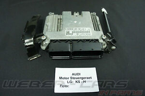 Org-Audi-A3-8P-160PS-Motor-Steuergeraet-Ottomotor-4-Zly-8P7907115A-BYT-1-8-T-FSI