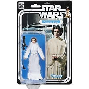 Star Wars The Black Series 40th Anniversaire 6 in (environ 15.24 cm) Wave 1 Princesse Leia 							 							</span>