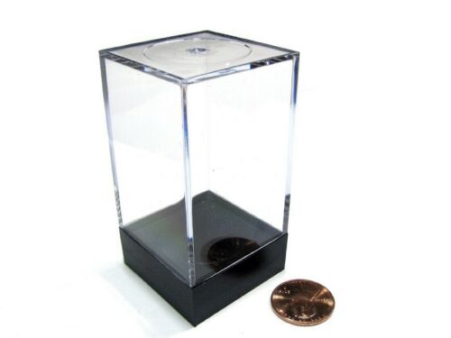 """Medium Tall 2½/"""" x 1½/""""x 1½/"""" Chessex Plastic Figure Display Box CHX02805"""