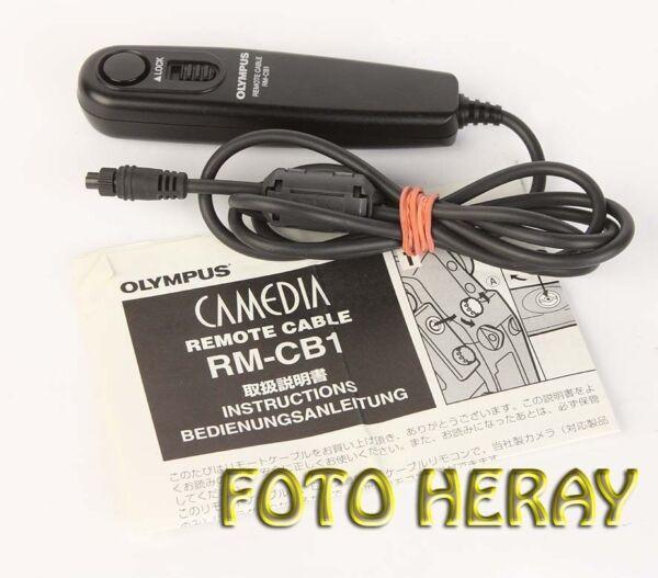 Constructif Olympus Rm-cb1 Télécommande Filaire Câble/déclencheur à Distance Remote Cable Rm-cb1-nung Kabel/fernauslöser Remote Cable Rm-cb1