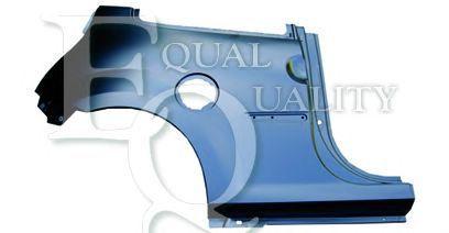 1.5 dCi 75 L04948 EQUAL QUALITY Parafango Sx posteriore RENAULT TWINGO II CN0/_