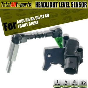Front Right Passenger Headlight Level Sensor for Audi A6 A8 S6 S7 S8 4H0941286G