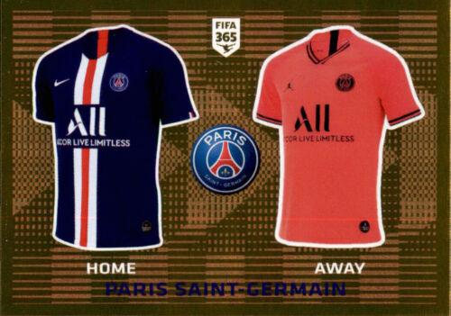 Panini Fifa 365 2020 Sticker 139 Paris Saint-Germain T-Shirt