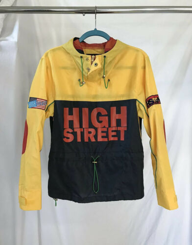 RARE! HighStreet NYC Snow Beach Windbreaker (S)