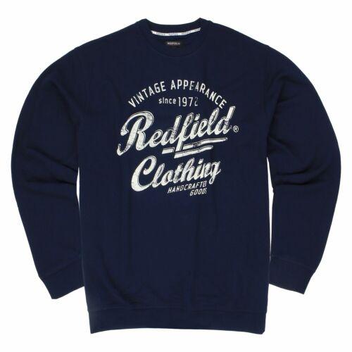 Herren Pullover Sweatshirt XXL Sweater Pulli Sweat Shirt Rundhals in Übergrößen