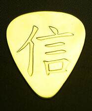 Acoustic ORTHODOX CROSS  IC XC NI KA Electric Solid Brass Guitar Pick Bass