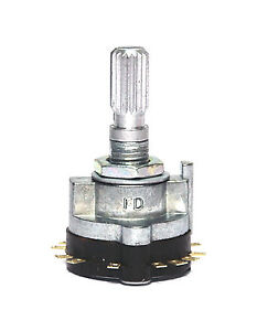 2pc-Rotary-Switch-1-Wafer-4-Pole-3-Position-SRRN134-RoHS-FD-SRRN134N27-L-20mm