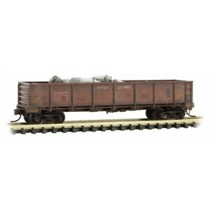 Spokane-Portland-amp-Seattle-40-039-Gondola-w-Load-Micro-Trains-MTL-08351130-N-Scale