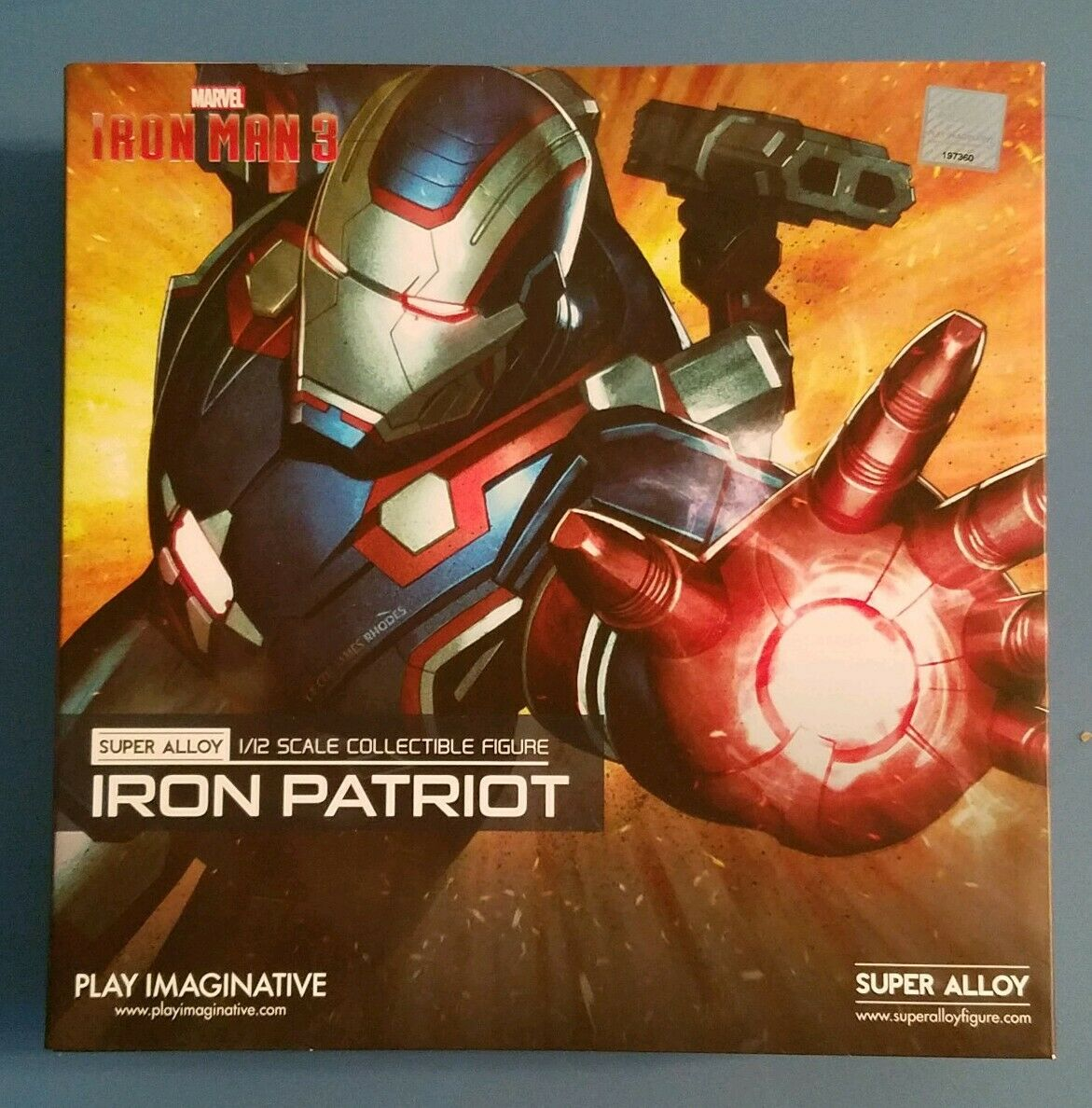 Iron Man 3 Iron Patriot Super Alloy 1 12 Scale Collectible Figure NEW Toy Figure