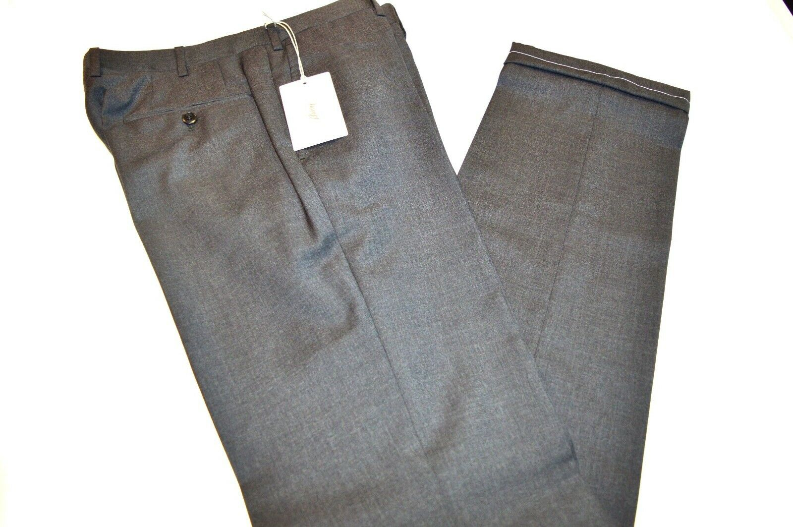 New BRIONI Mod Megeve Trouser  100% Wool  Dress Pant  Size 42 Us 58 Eu Megeve2