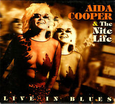 AIDA COOPER & NITE LIFE live in blues 2CD w/slipcase 2003 Comet RARE