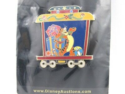 Disney Auctions Happy Holidays Winnie The Pooh Train Tigger Only LE 100 Pin