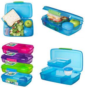 Sistema-Bento-Box-Vesperbox-Lunchbox-Brotdose-Fruehstuecksdose-Bentobox-Frischebox