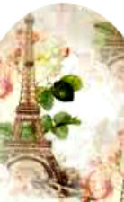 20 water slide nail art transfer decals effiel  tower full nail wraps