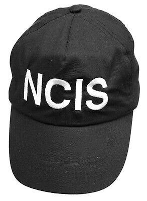 NCIS Brodé Black Cap