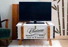 TV Tisch Lowboard Fernsehtisch TV Schrank Fernsehschrank Sideboard Shabby Chic