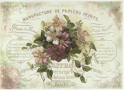 Rice Paper for Decoupage, Scrapbook Sheet, Craft Flower Bouquet 2