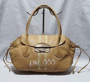 PRADA-Antic-Easy-Lock-Cream-Leather-Purse-Bag