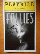 Judith Ivey (only) signed Playbill Follies Blythe Danner & Gregory Harrison 2001
