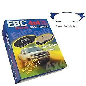 EBC Rear Greenstuff Brake Pads 6000 Series SUV Range DP62098 Performance Pad
