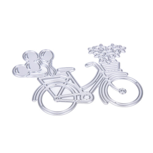 Bicycle Metal Cutting Die Stencil Scrapbooking Paper Card Albums PhotoCraft A*UK