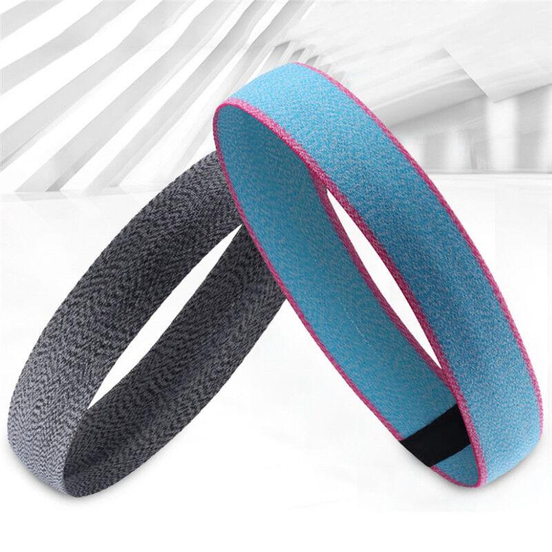 Sport Headband Fitness Yoga Elastic Sweatband Outdoor Running Wide Hairbands One