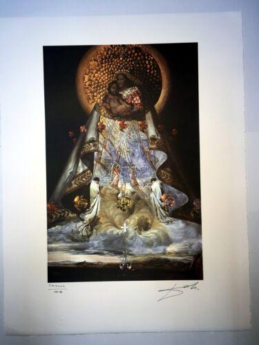 Salvador Dali cm 50x65 carta BFK RIVES firmato a matita edizione Joplin France