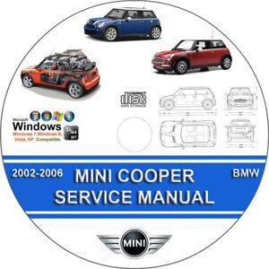 mini cooper s 2002 instruction manual