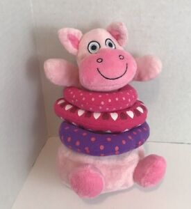 Tiny Tillia By Avon Pink Cow Plush 12 Stuffed Animal Toy Removable