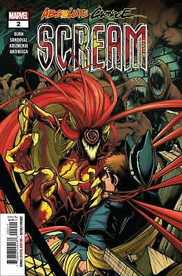 Absolute Carnage #3 2nd Print Variant NM Marvel Comic Book Near Mint