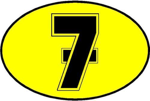 Menge X 3 7 Barry Sheene Motorrad Bedruckt Aufkleber Größenwahl